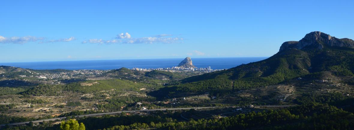 uitzicht op zee Costa Blanca