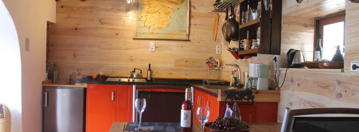 Keuken villa Jalon